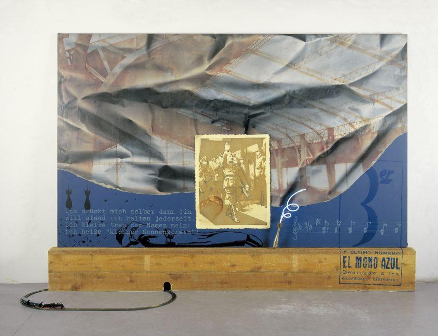Sueño, temor y realidad del Mono azul, 1974