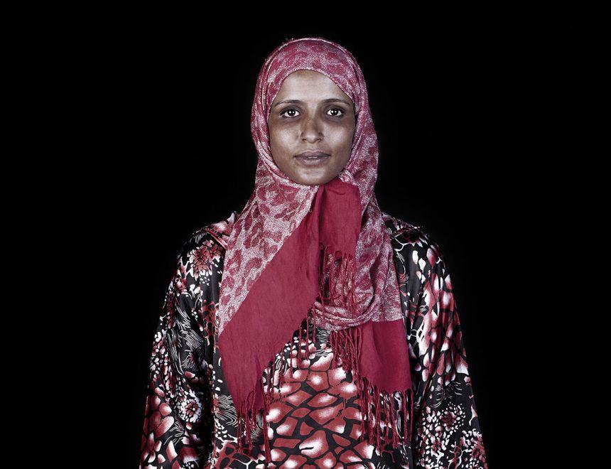Leila Alaoui / Place Jemaa El Fnaa #3, Marrakech, serie Les Marocains, 2011
