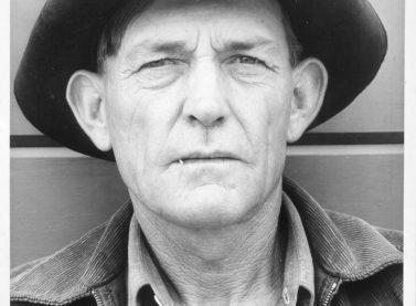 Arthur Rothstein / Migrant field worker. Tulare migrant camp. Visalia, California, 1940