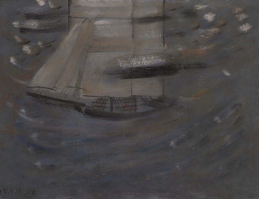 Pacho Cassio / Le voilier, 1929