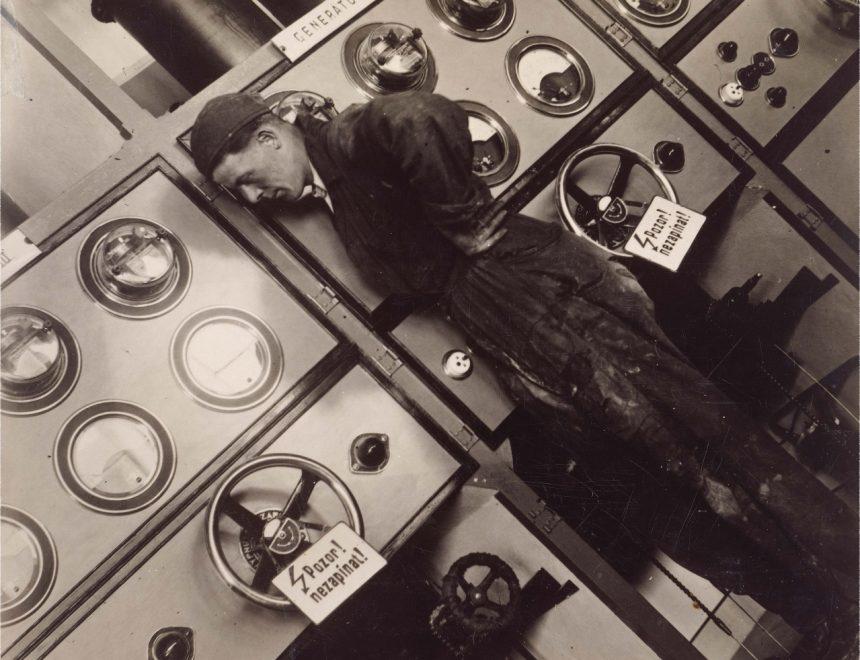 Jaromir Funke / Man at work, SF
