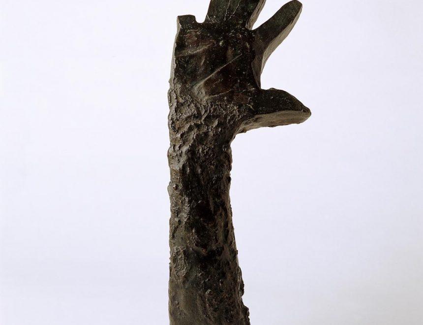 Main droite levée nº1 (Mano derecha levantada nº1), 1942