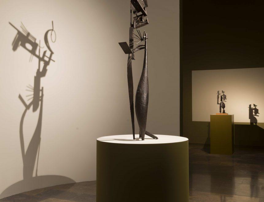 Vista de la exposición Julio González