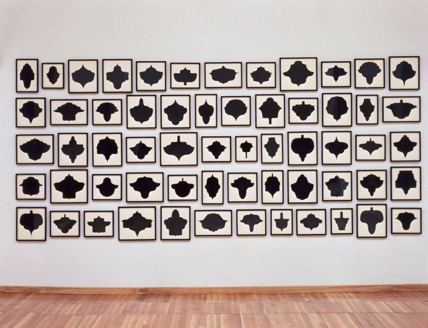 Allan McCollum / Collection of 60 drawings nº 7, ca. 1988 - 1990
