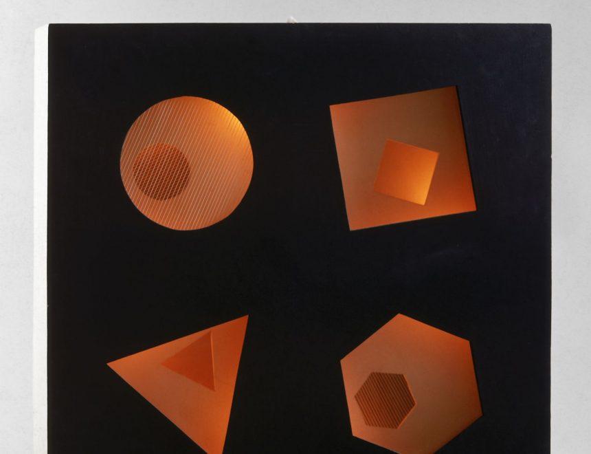 Eusebio Sempere / Relieve luminoso, 1955