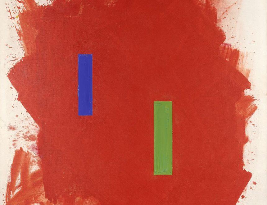 Hans Hofmann / Scintillating red (Rojo brillante), 1962
