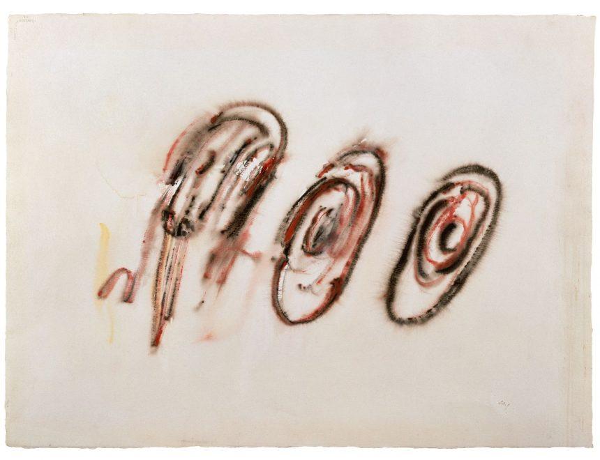 Henri Michaux / Sin título, 1956