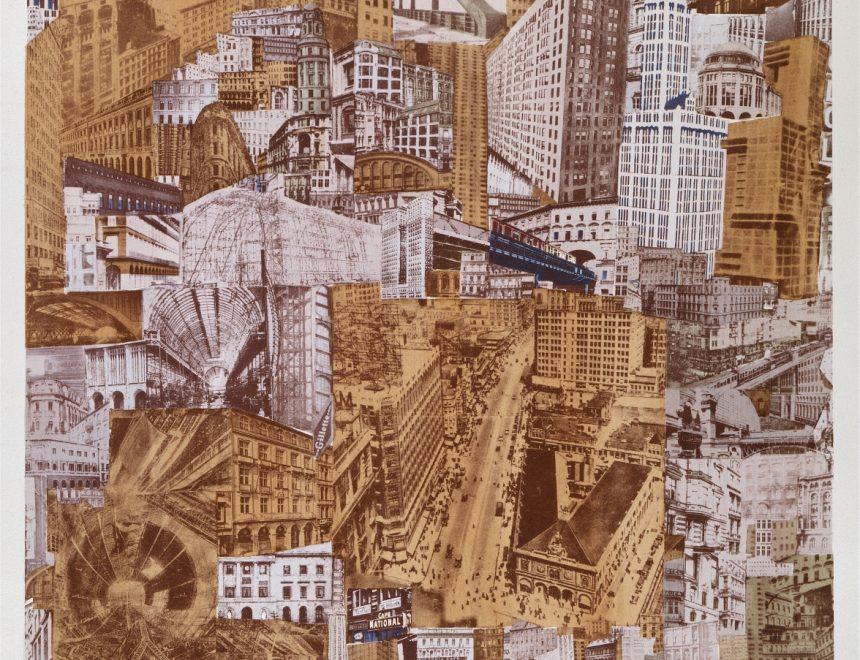 Paul Citroën / Metropolis, ca. 1923