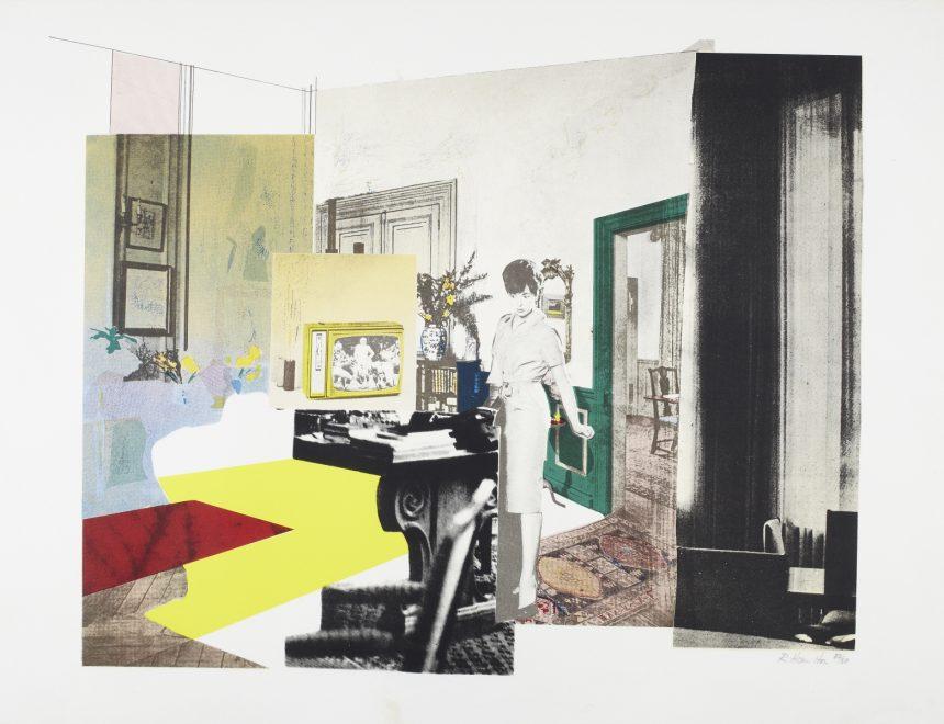 Richard Hamilton / Interior, ca. 1964-1965