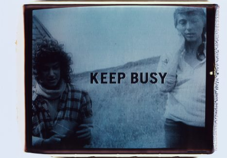Robert Frank / Keep Busy, 1994