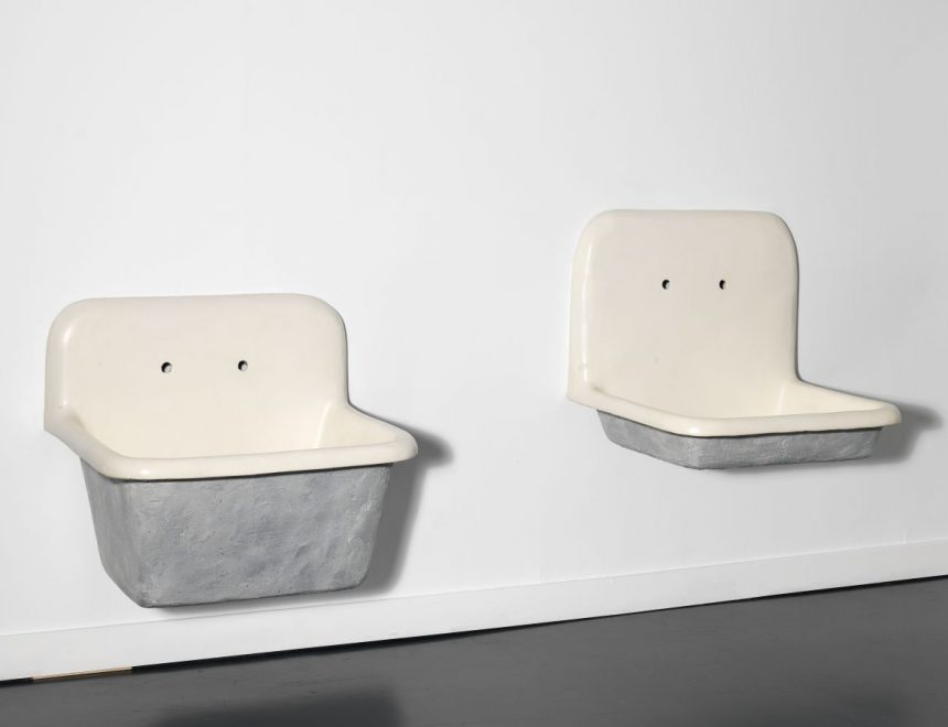"""Robert Gober / Untitled, 1985. Collection """"the Box"""". Contemporary Art"""