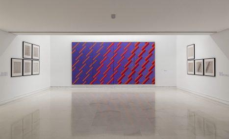 Sense títol, 1977, Soledad Sevilla, en l'exposició Imaginaris mecànics i tècnics en la Col·lecció de l'IVAM