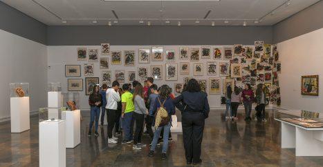 Vista sala 'Joan Miró. Ordre i desordre'