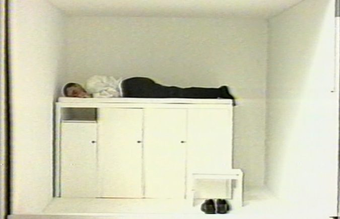 Absalon Solutions, 1992 Video 7'25'' © The estate of Absalon Courtesy of the artist and Galerie Chantal Crousel