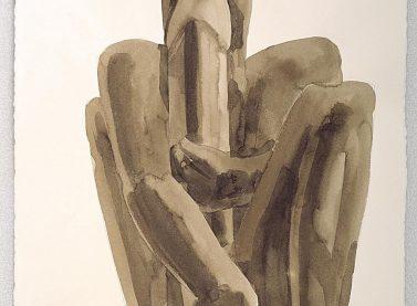 Miquel Navarro / Apoyado II, 2003. Institut Valencià d'Art Modern, Generalitat. Donación del artista. © Miquel Navarro, VEGAP, Valencia, 2020.