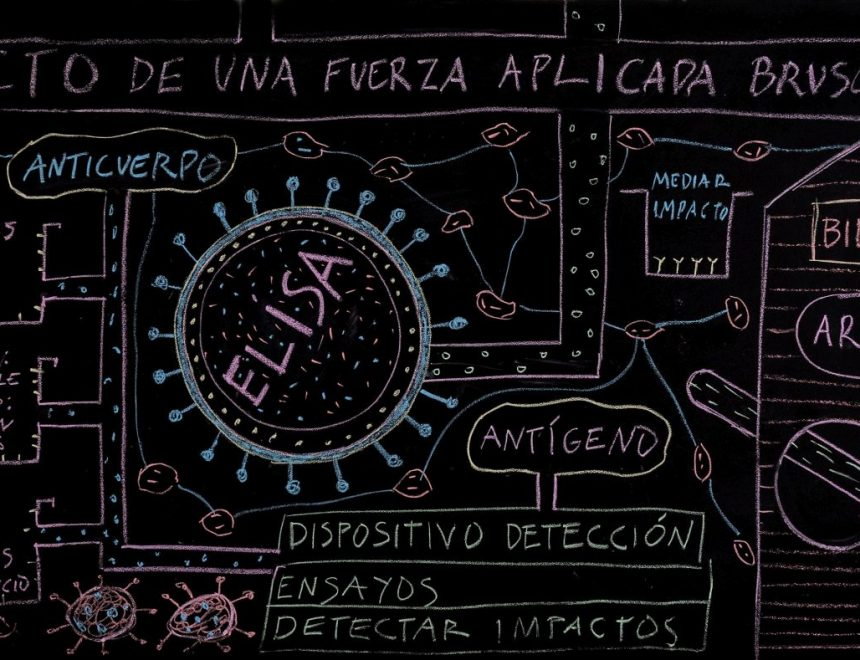 Pepe Miralles / Mesa pizarra ELISA