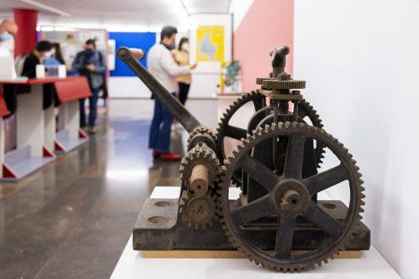 Exposición Industria/Matrices, tramas y sonidos