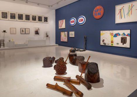 Vista galería exposición Tiempos convulsos