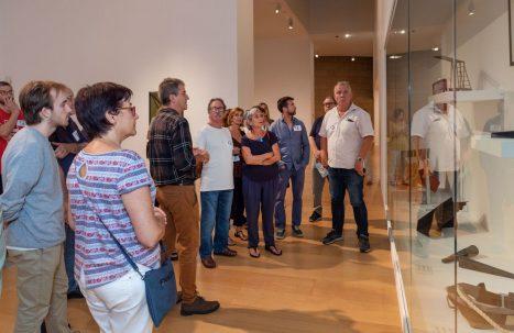 Visita exposición Ángeles Marco