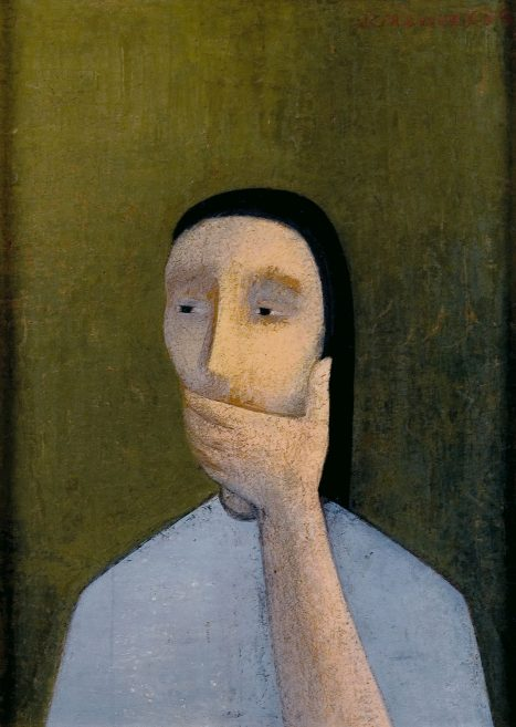 Juana Francés / Silencio, 1953. Colección Candela Álvarez Soldevilla
