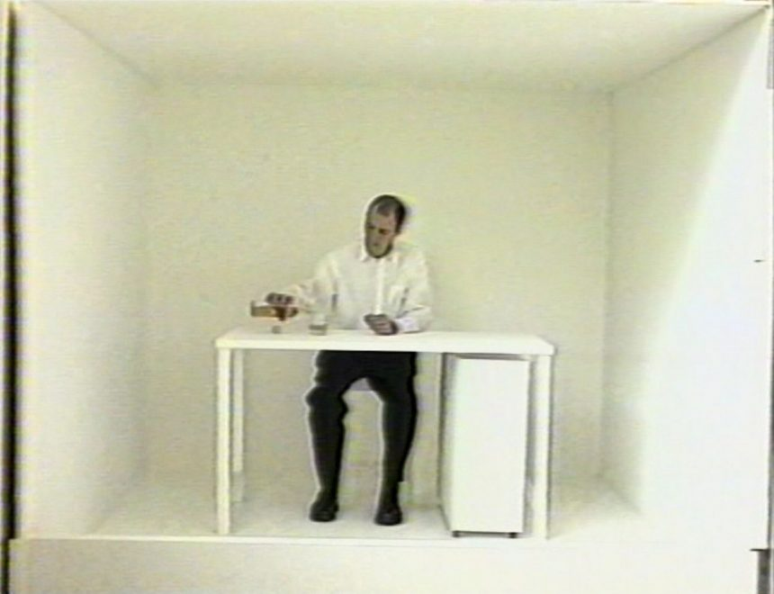 Absalon / Solutions, 1992. Video courtesy of the artist and Galeríe Chantal Crousel, Paris. © The estate of Absalon