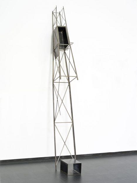 Ángeles Marco / Ascensor Oblicuo, 1987. Colecció CA2M