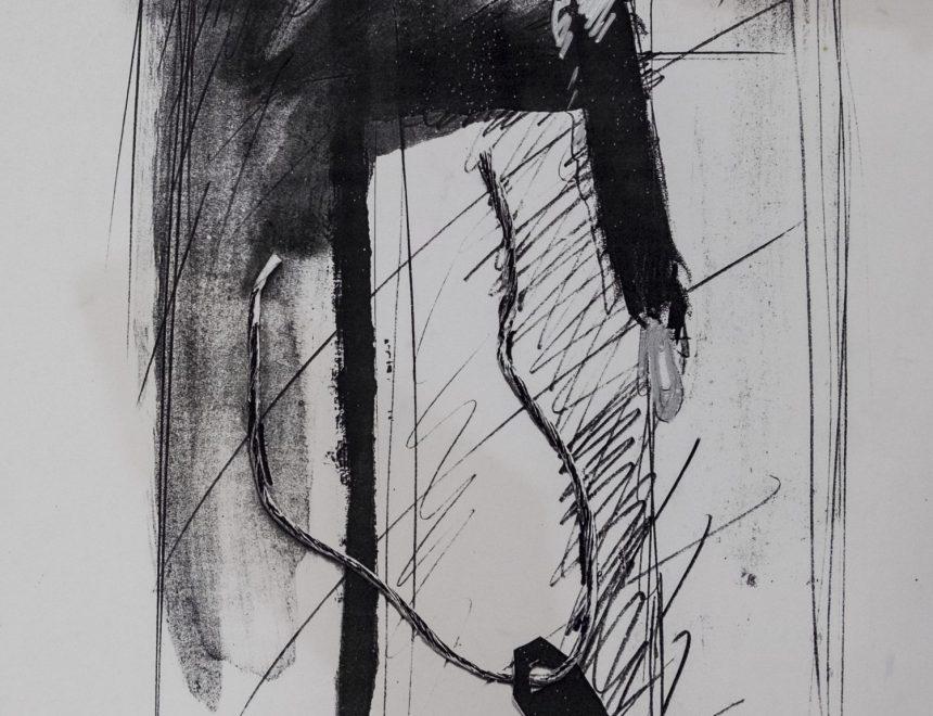 Ángeles Marco / Sense títol, serie Salto al vacío, 1989