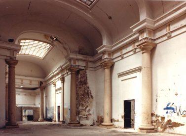 Vista del Convent del Carmen prèvia a la seua remodelació