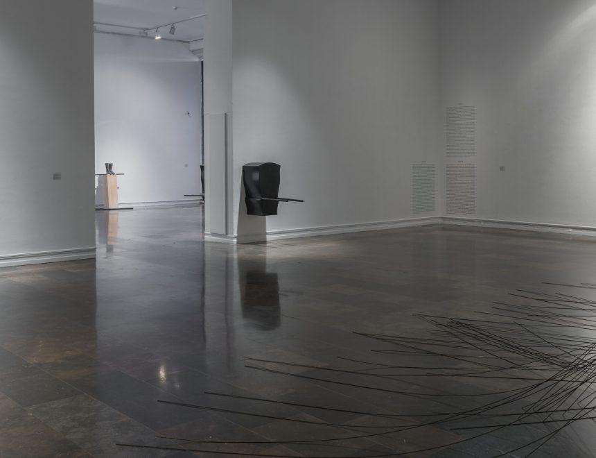 Panoramica sala exposicion Pepe Espaliu, 2016