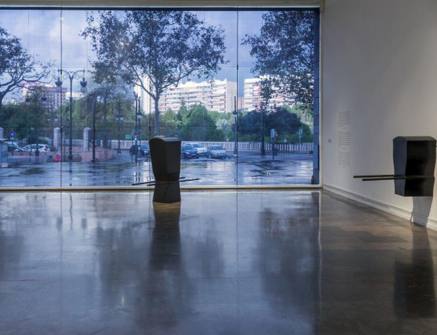 Panoràmica sala exposició Pepe Espaliú, 2016