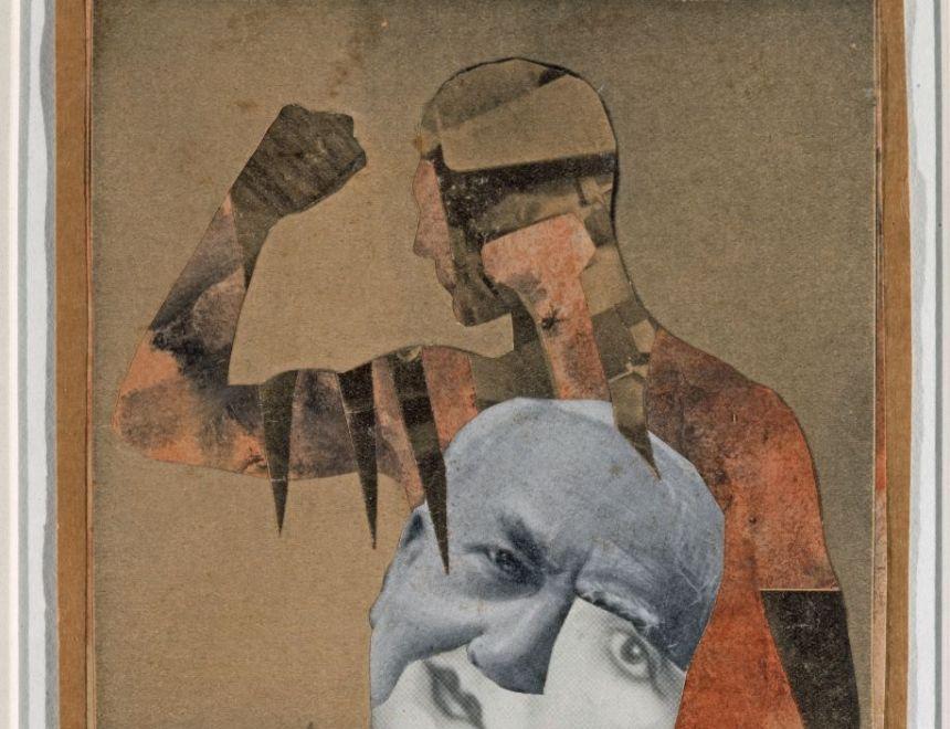Hannah HÖCH / Die starken Männer, 1931 Institut für Auslandbeziehungen e.V., Stuttgart © Hannah Höch, VEGAP, Valencia, 2020