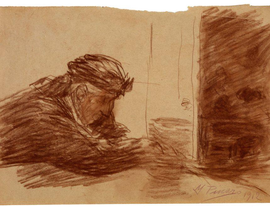Ignacio Pinazo / Meditando, 1912