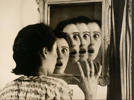 Grete Stern / Somni núm. 7: Qui serà?, de la sèrie