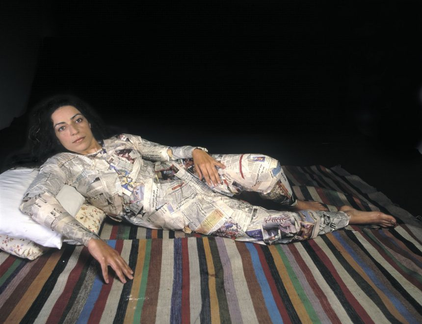 Raeda Saadeh / Who will make me real?, 2003