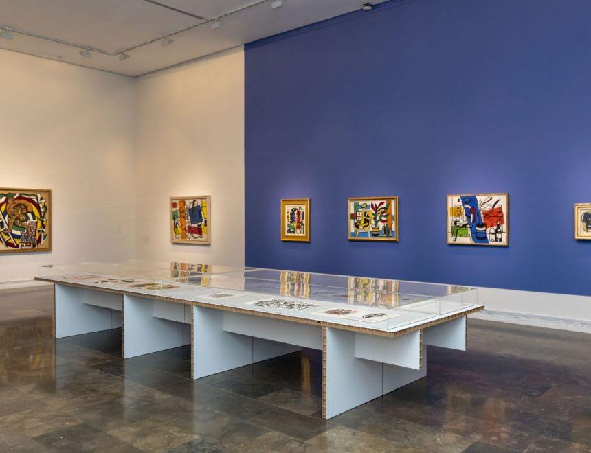 Vista exposició Fernand Léger