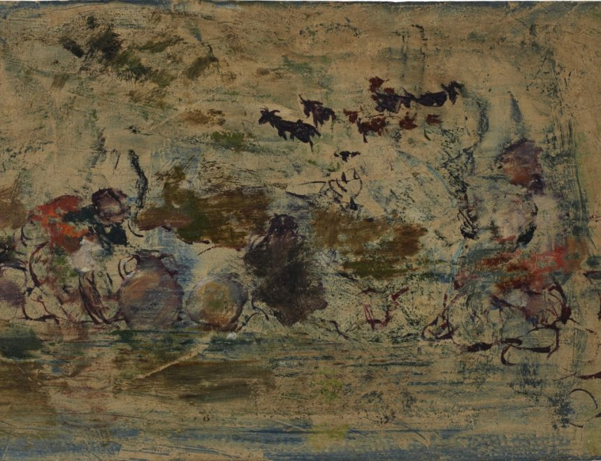 Ignacio Pinazo / Lecheras, ca 1910