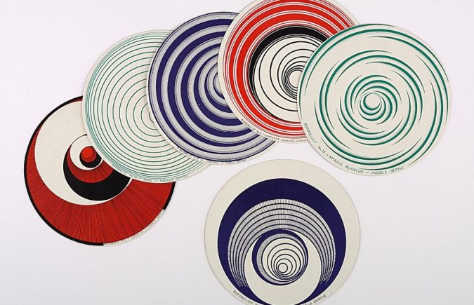 Marcel Duchamp / Optical Disc (Rotorelief), 1935. IVAM, Institut Valencià d'Art Modern, Generalitat
