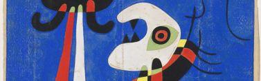 JOAN MIRÓ / Sin título (Diseño para estarcido), ca. 1946. Fundació Joan Miró. © Successió Miró 2017