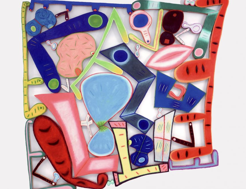Elizabeth Murray / The Lowdown, 2001
