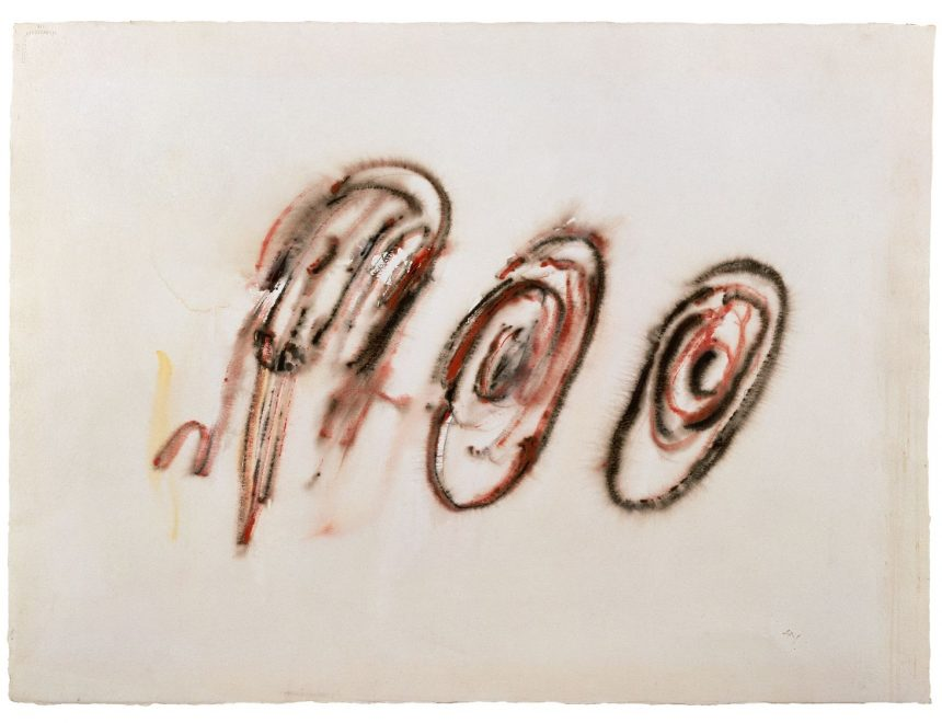 Henri Michaux / Untitled, 1956