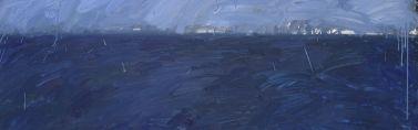 Jordi Teixidor / Pintura Azul I, 1986