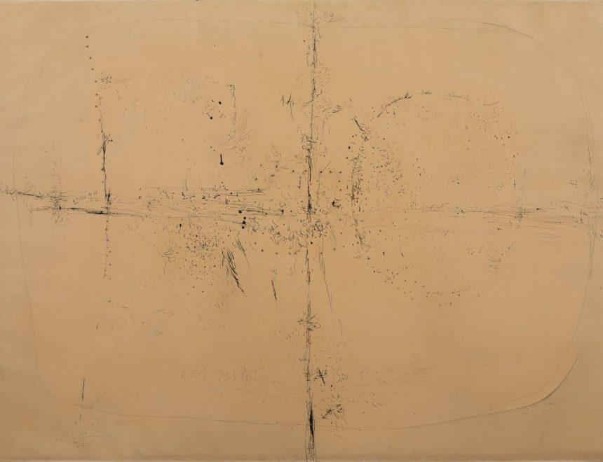 Lucio Fontana / Concetto spaziale / concepto espacial, 1958