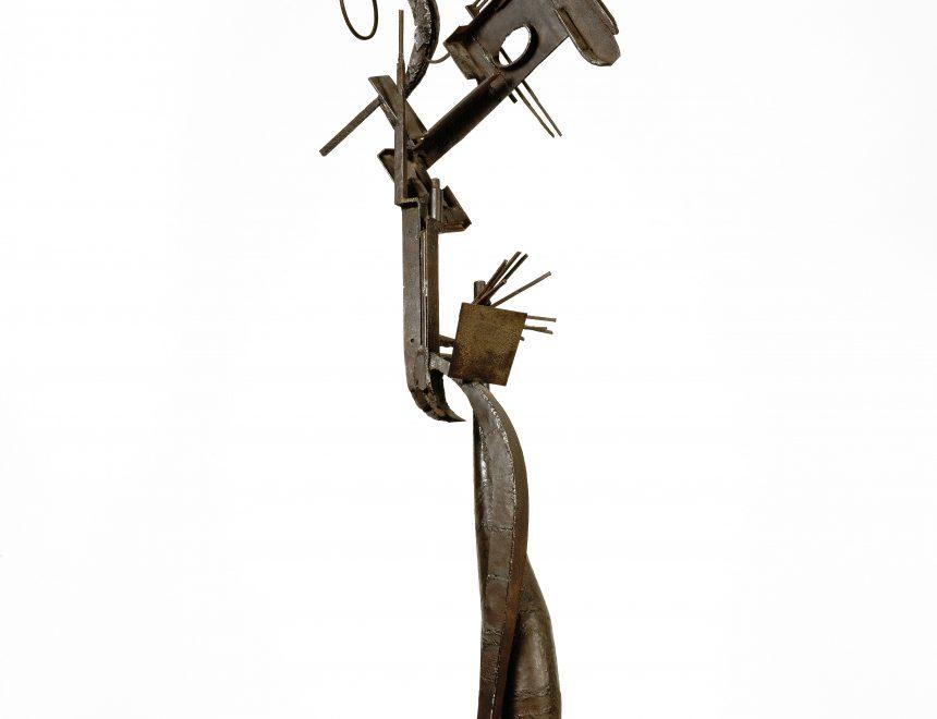 Julio González / Dona davant l'espill, ca. 1936-1937