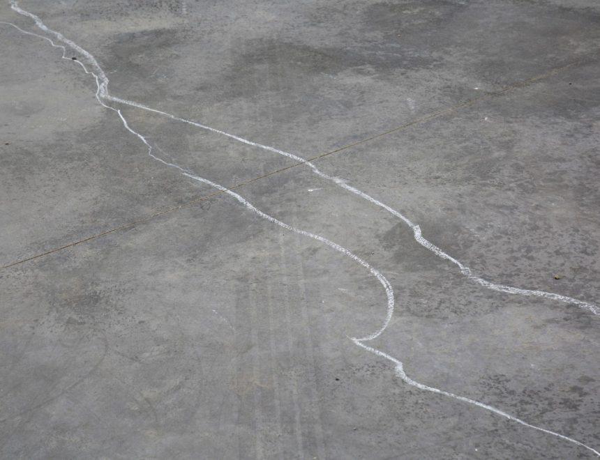 Álex Marco / Dibujo anónimo (camino), 2020. Fotografía digital