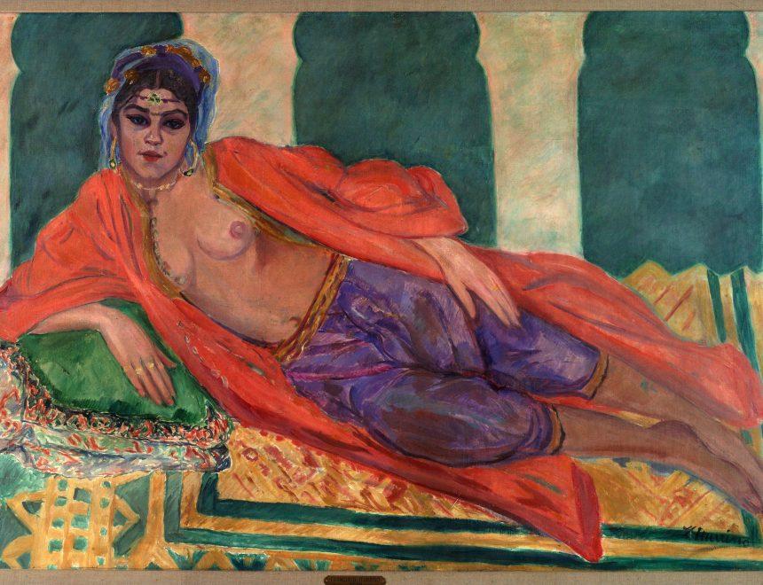 Francisco Iturrino González / Odalisca, 1912 Colección Zorilla Lequerica