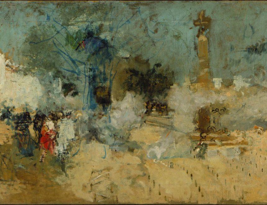 Ignacio Pinazo Camarlench / Mascletà, s.f. IVAM, Institut Valencià d' Art Modern, Generalitat.