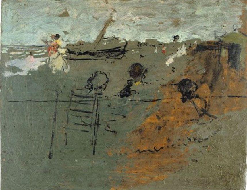 Ignacio Pinazo / Berenar a la platja, 1886. IVAM, Institut Valencià d'Art Modern, Generalitat