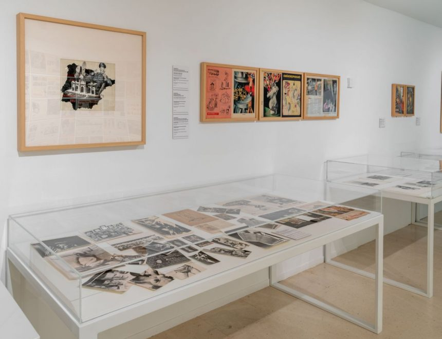 """Vista de la exposición """"Renau y The American way of Life"""", 2021"""