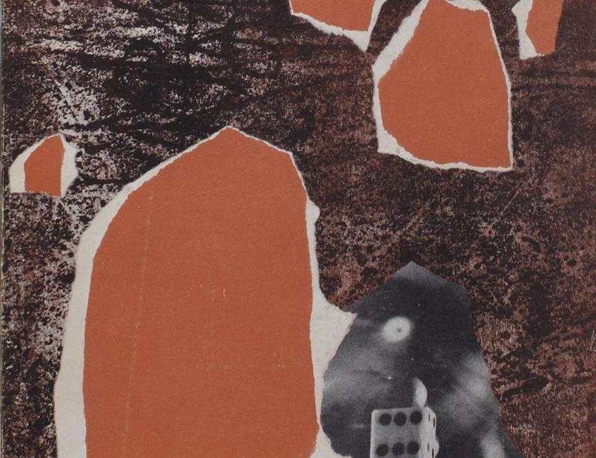 """Lluís Bosch / Dibuix original per a l'exemplar de bibliòfil núm. 74 de la revista """"Ròssec de l'art contemporani"""", 1963 IVAM, Donació José Huguet i Catherine *Baudin"""