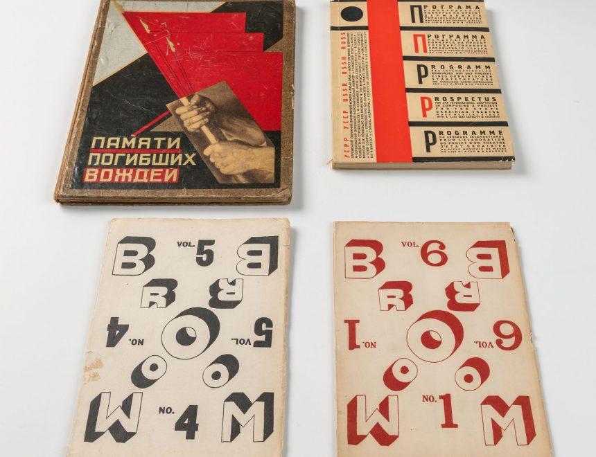 Montaje portadas libros soviéticos